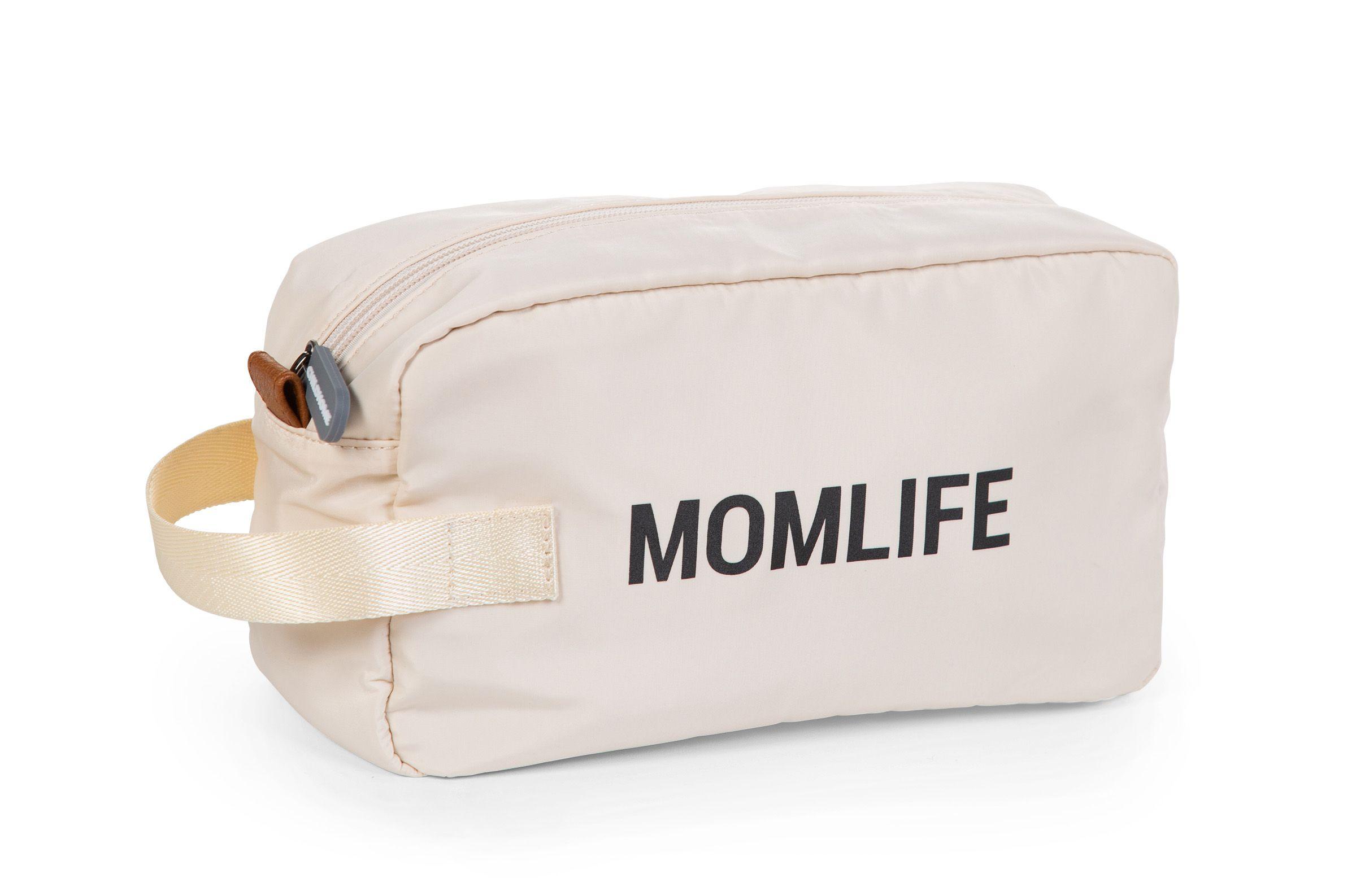 Toaletná taška Momlife Off White Black