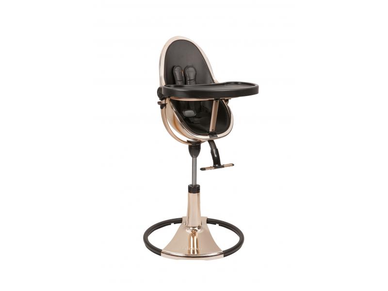 Židlička Fresco Chrome GOLD ROSE (special luxury edition), bez podložky