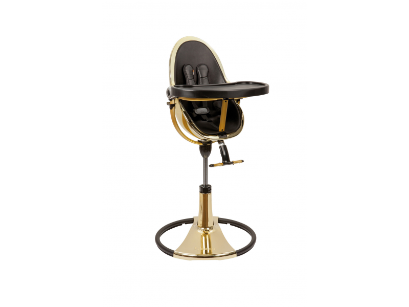 Židlička Fresco Chrome GOLD YELLOW (special luxury edition), bez podložky