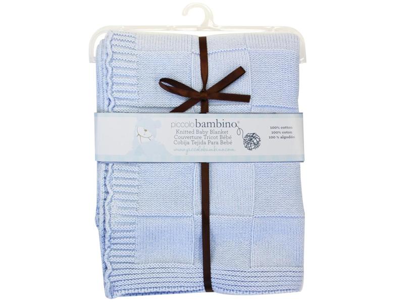 Pletená deka 76x91 cm chlapecká