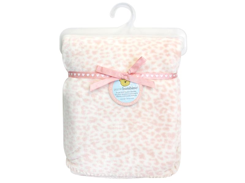 Plyšová deka 76x91 cm růžová
