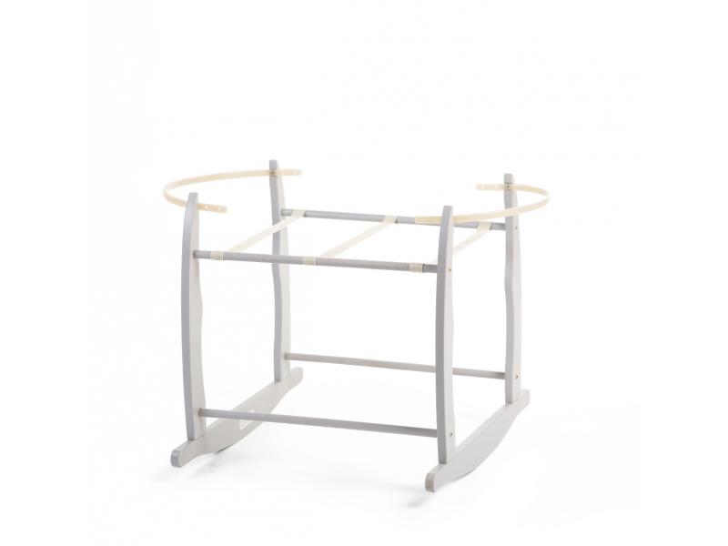 Houpací stojan pro košík na miminko Grey