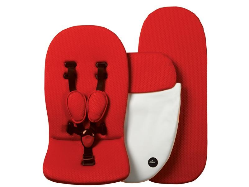 Mima Náhradní matrace a podložka pro Kobi / Xari bílá / červená