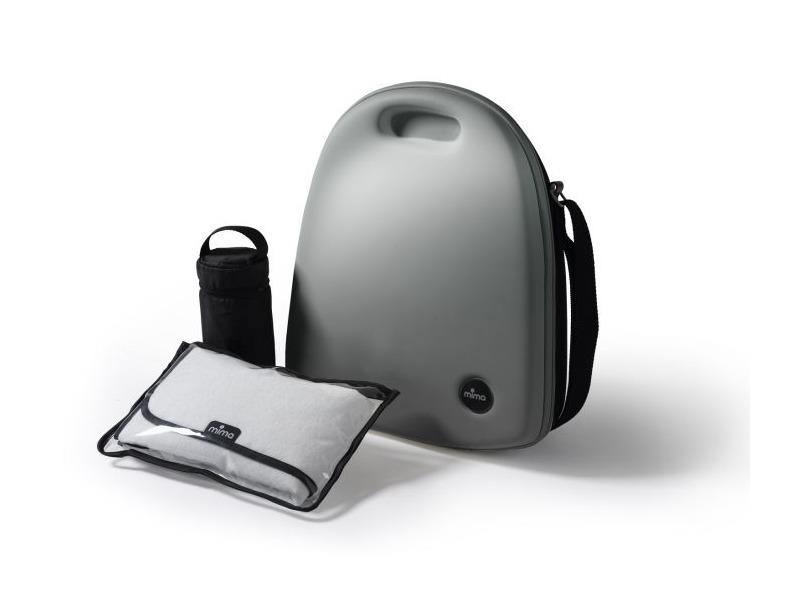 Přebalovací batoh Kobi stříbrný