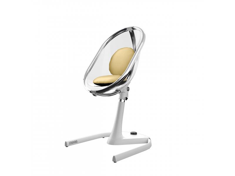 Mima Sada sedacích polštářků do židličky Moon Champagne