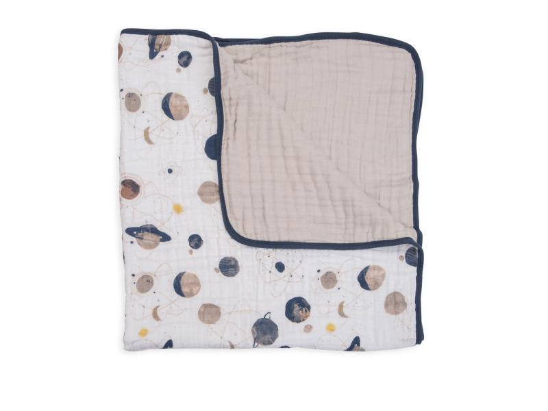Mušelínová deka 120x120cm Planetary