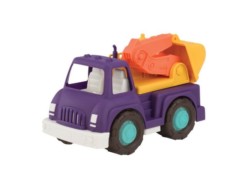 B-Toys Náklaďák s rypadlem Wonder Wheels